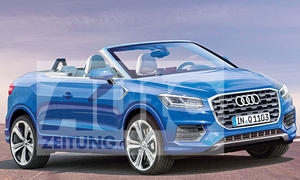 Audi Q2 Cabrio: Illustration