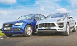 Audi SQ5 plus/Porsche Macan GTS: Vergleichstest