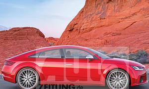 Audi TT Sportback (2017): Illustration