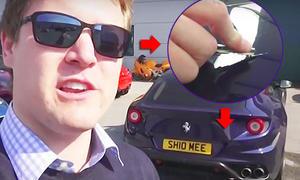 Shmee150 zerkratzt seinen Ferrari FF