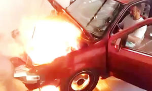 VW Gol verkraftet Turbo nicht