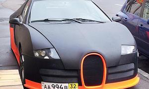 Russischer Bugatti Veyron
