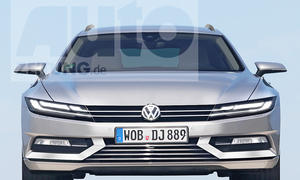 VW Passat (Illustration)