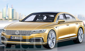 VW Phaeton (bis 2021) Illustration