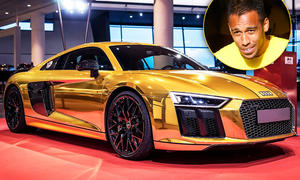 R8 V10 plus für den Goldjungen