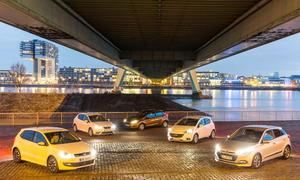 Ford/Hyundai/Opel/Seat/VW: Vergleich