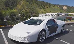 Lamborghini Huracán in der Transporthülle