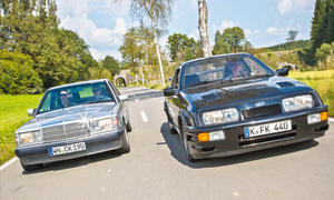 Mercedes AMG 190/Ford Sierra RS