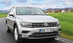 VW Tiguan (2016): Erster Test