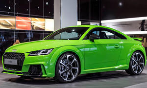 Audi TT RS (2016) in Lime Green