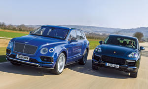 Bentley Bentayga/Porsche Cayenne Turbo S