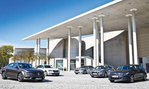 Renault Talisman/Skoda Superb/Mazda 6/Peugeot 508/Kia Optima: Vergleich
