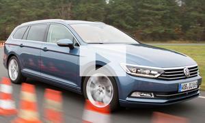 VW Passat (2014): Video