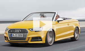 Audi S3 Facelift Cabrio (2016): Video