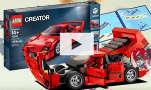 Ferrari F40 von Lego: Zusammenbau