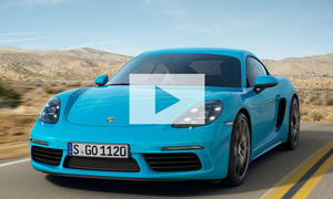 Porsche 718 Cayman: Video