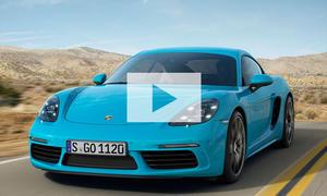Porsche 718 Cayman: Video