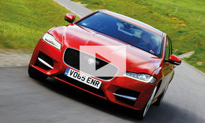 Jaguar XF 20d AWD (2016): Video