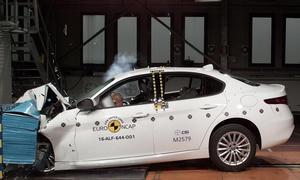 Alfa Romeo Giulia im Euro NCAP Crashtest