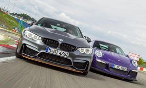 BMW M4 GTS/Porsche 911 GT3 RS: Test