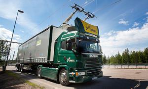 Elektrospur für Brummis in Schweden
