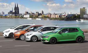 Ford Fiesta/Hyundai i20/Opel Corsa/Skoda Fabia: Vergleich