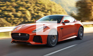 Jaguar F-Type SVR (2016): Video