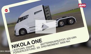 Nikola One Elektro-Sattelschlepper: Video