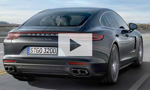 Porsche Panamera II (2016): Video