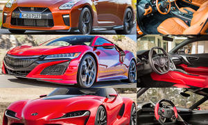 Toyota Supra, Honda NSX & Nissan GT-R im Vergleich
