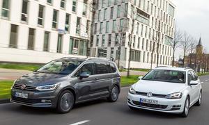 VW Touran/VW Golf Variant: Vergleich