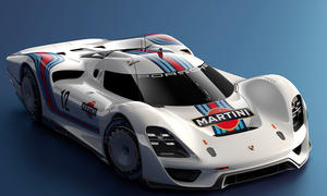Porsche 908-04 Concept: Design-Entwurf