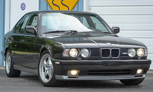 BMW M5 mit V12 steht zum Verkauf