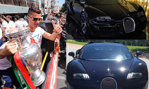 Bugatti Veyron von Cristiano Ronaldo