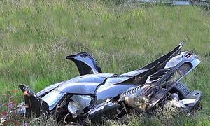 One:1 crasht auf dem Nürburgring