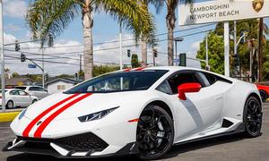 Lamborghini Huracán mit Optik-Paket
