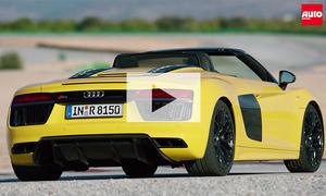 Audi R8 Spyder V10 (2016): Video