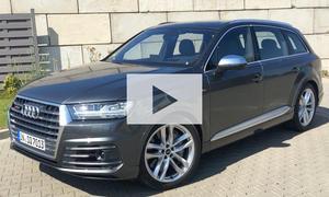 Audi SQ7 TDI: Video