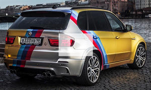 BMW X5 M Gold Edition: Video