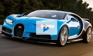 Bugatti Chiron Weltrekord: Video