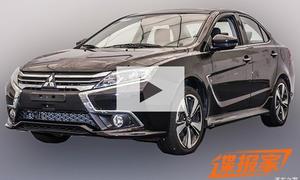 Mitsubishi Lancer Facelift: Video