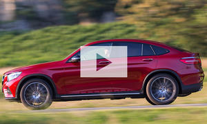 Neues Mercedes GLC Coupé: Video