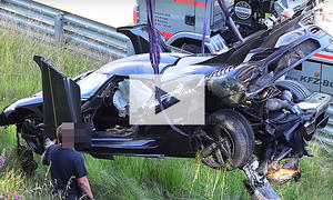 Supersportler-Crashs: Video