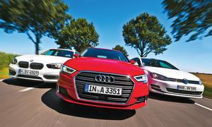 BMW 1er/Audi A3/VW Golf: Vergleich