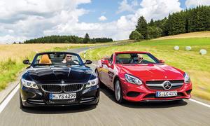 BMW Z4/Mercedes SLC: Vergleich