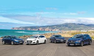 Hyundai i40/Opel Insignia/Renault Talisman/VW Passat: Vergleich
