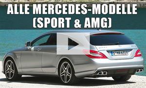 Mercedes Modellpalette (AMG): Video