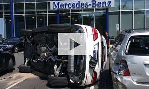 Kurze Mercedes-Probefahrt: Video