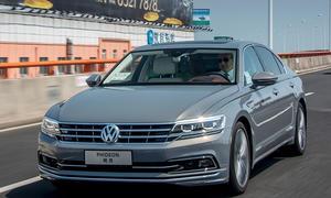 Neuer VW Phideon: Erste Fahrt