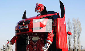 BMW 3er Transformer-Umbau: Video